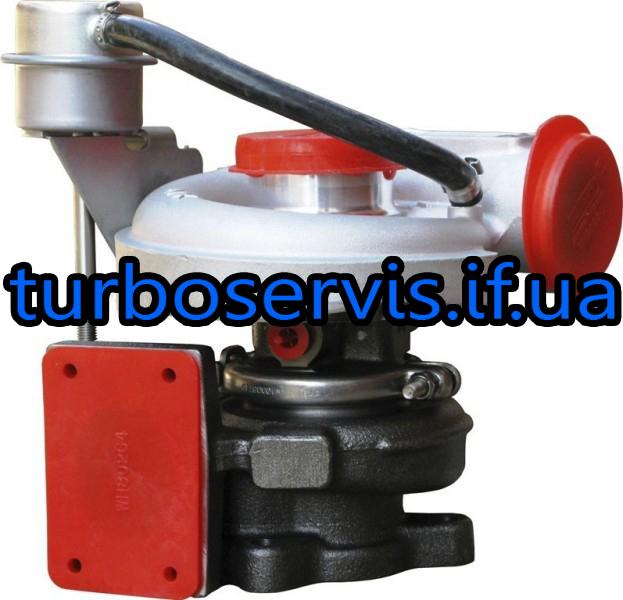 Турбокомпрессор Holset HE211W на ГАЗ Валдай / ПАЗ / Foton, турбина 2836258